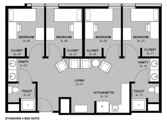Resident Hall Rates And Floor Plans Www Tamut Edu