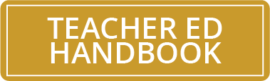 Teacher ED Handbook