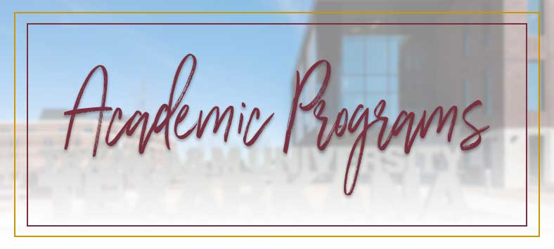 Academic Programs Header