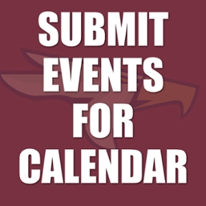 Submit events to University Calendar